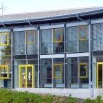 Offene Ganztagsschule Plön - Fassade Detail