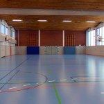 Sporthalle Wilhelminenschule Innenansicht 1
