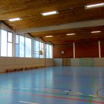 Sporthalle Wilhelminenschule Innenansicht 2