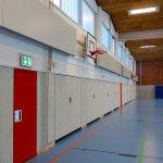 Sporthalle Wilhelminenschule Innenansicht 3